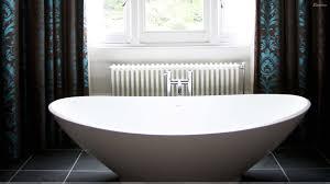 White Bowl Design Bathtub Closeup Wallpaper Inside Designer Bathtubs