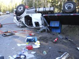 archived single vehicle roll over on snowbowl road resulting in serious injury