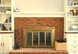 replacing fireplace doors gas