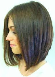 Long Hairstyle Medium Layered Bob For Round Faces Thick Hair Long