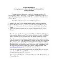 essay for death penalty  essay for death penalty