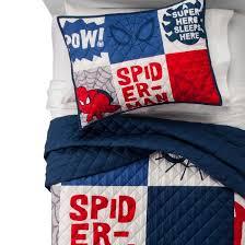 Spider-Man® Blue Quilt Set (Twin) 2pc : Target & Spider-Man® Quilt Set Adamdwight.com
