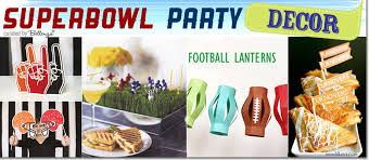 Super Bowl Party Decorating Ideas Stylish Super Bowl Party Ideas 15