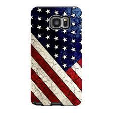 American Flag Galaxy NOTE 5 Case - Stars \u0026 Stripes USA Vintage Textured Art Note Tough U.S. Da
