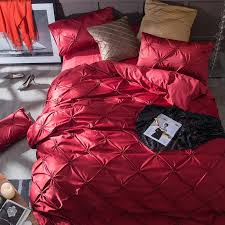 WTEMPO <b>Luxury Bedding Set</b> 100% Cotton Simple Silk Flower <b>Ice</b> ...