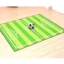 football area rug soccer field ground kids area rug football carpet for kid in large green area rug football