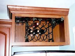 Wood Wine Rack Lattice Panel Style Plans Diy. Blck Metl Shpe Frme Rck Gret Lattice  Wine Rack Cabinet ...