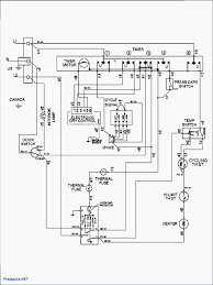 Clothes dryer wiring diagram