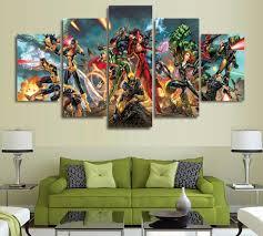 Marvel Superhero Bedroom Online Get Cheap Marvel Wall Decor Aliexpresscom Alibaba Group