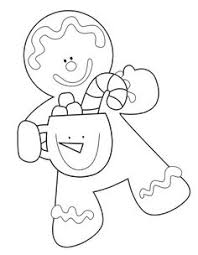 Small Picture Free Christmas coloring pages gingerbread girl coloring sheets