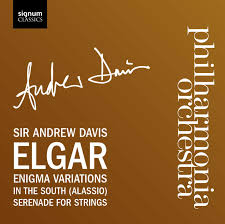 andrew davis archives signum records elgar enigma variations in the south serenade for strings
