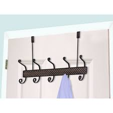 Behind The Door Coat Rack Home Basics 100 Hook Over The Door Coat Rack Walmart 99