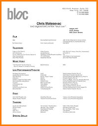 dance resume examples. Dance Resume Examples Awesome Best Audition Resume Template 12