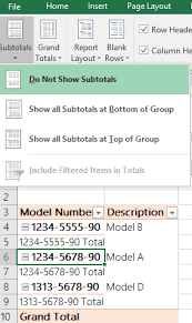 microsoft excel - How do I add a description column to a Pivot Table ...