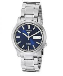 top 10 best seiko watches for men unbiased reviews feb 2017 seiko 5 men s snk793 automatic stainless steel watch blue dial