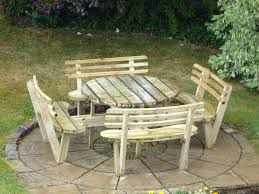 round picnic table bench cushions plans 2x6 canada round picnic table