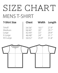 Papa Johns Size Chart Size Guides Nme Merch Nmemerch