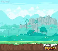 ArtStation - Angry Birds Friends Backgrounds, Maria Mustonen