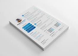 Good Font Modern Resume Clean Modern Resume Design Template Graphic Templates