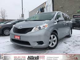 Used 2014 Toyota Sienna, Bluetooth, Backup Camera, Dual Zone A/C 4 ...
