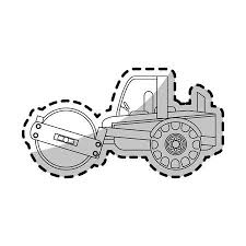 クレーン トラック建設重機アイコン画像ベクトル イラスト デザイン