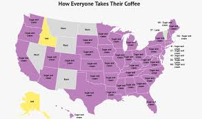 You don't have to go out of your way to the one coffee shop with almond milk. Survey People Are Drinking A Lot Of Coffee And They Like It Sugary Sweet Zippia