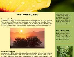 Free Newsletter Layouts 30 Free Html Email Newsletter Templates