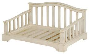 wooden french country pet bed frame farmhouse dog beds by dogstuff depot inc