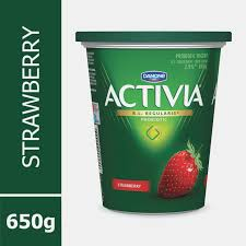 danone activia strawberry 13 13 m f probiotic yogurt walmart canada