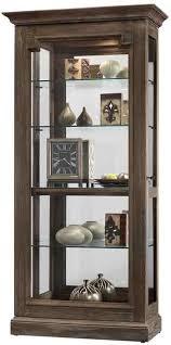 rustic curio cabinet. Unique Rustic Howard Miller Caden II 680608 Rustic Curio Cabinet Throughout N