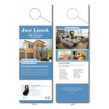 door hanger design real estate. Real Estate Door Hangers Hanger Design