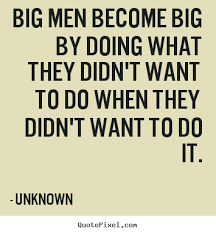 Success Quotes For Men Stunning How To Design Picture Quotes About Success Big Men Become Big By
