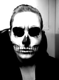 how to apply skull makeup by lekstedt skull make up by nashihoshi picture of apply