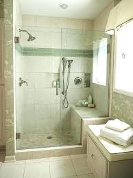 spacious shower if you prefer to have just a in your bathroom opt eliminate the tub best western inn walk in shower with pull down seat doorless