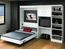 white murphy bed desk combo costco folding to wall feature