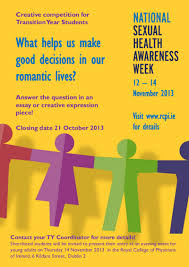 sexual health awareness week for transition year students sexual awareness week poster