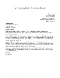 Administrative Cover Letter Example Best Examples