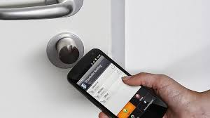 front door app11 Smart Door Locks Doorbells and Door Lock Apps