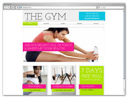 gym website design our html5 templates your web design