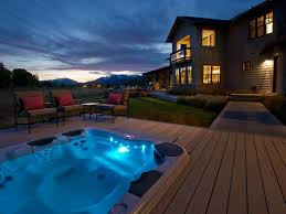 above ground pool with deck and hot tub. Above Ground Pool With Deck And Hot Tub O