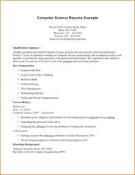Resume Doc Format Computer Science Template Free Word Document For ...