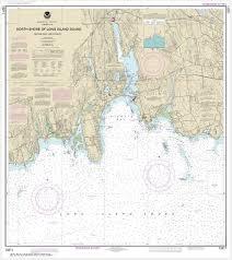 Noaa Chart North Shore Of Long Island Sound Niantic Bay And Vicinity 13211