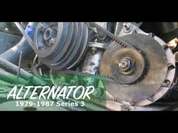 how to replace alternator on jaguar xj6 how to replace alternator on jaguar xj6