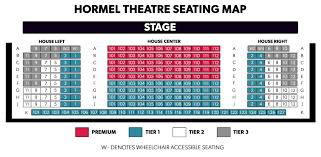Gammage Seating Chart Seating Maps The Phoenix Theatre Company