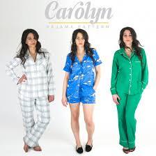 Pajama Patterns Fascinating Carolyn Pajama Pattern Supply Patterns Kollabora