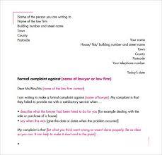 sample complaint letters sample letters word complaint letter 10 now
