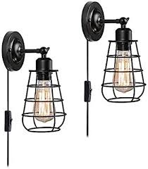 cage wall sconces