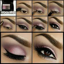 26 easy step by step makeup tutorials for beginners eye makeup pink eye makeup purple eye makeup eye makeup
