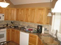 kitchen backsplash oak cabinets what color tile goes with honey