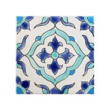 Blue And White Decorative Tiles Blue Accent Tiles You'll Love Wayfair 8